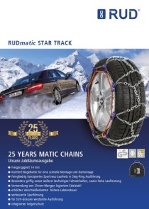 world of snow chains rud matic star track. Black Bedroom Furniture Sets. Home Design Ideas